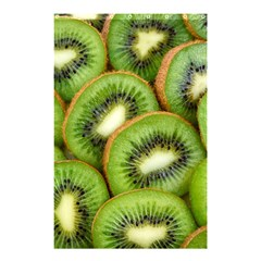 Sliced And Open Kiwi Fruit Shower Curtain 48  X 72  (small)