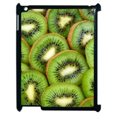 Sliced And Open Kiwi Fruit Apple Ipad 2 Case (black) by goodart