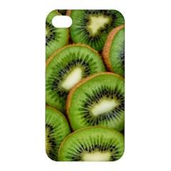 Sliced And Open Kiwi Fruit Apple Iphone 4/4s Hardshell Case