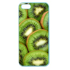 Sliced And Open Kiwi Fruit Apple Seamless Iphone 5 Case (color)