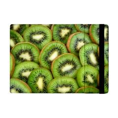 Sliced And Open Kiwi Fruit Apple Ipad Mini Flip Case by goodart