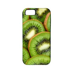 Sliced And Open Kiwi Fruit Apple Iphone 5 Classic Hardshell Case (pc+silicone) by goodart