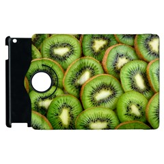 Sliced And Open Kiwi Fruit Apple Ipad 3/4 Flip 360 Case
