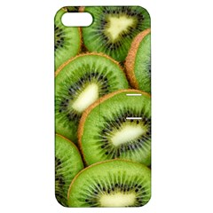 Sliced And Open Kiwi Fruit Apple Iphone 5 Hardshell Case With Stand by goodart