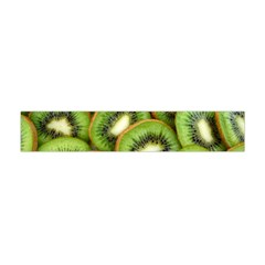 Sliced And Open Kiwi Fruit Flano Scarf (mini) by goodart