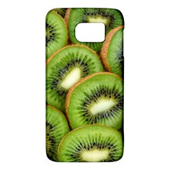 Sliced And Open Kiwi Fruit Galaxy S6