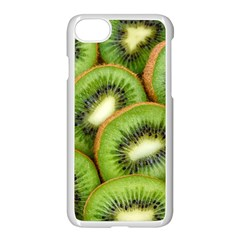 Sliced And Open Kiwi Fruit Apple Iphone 7 Seamless Case (white)