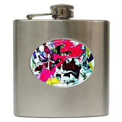 Buffulo Vision 1/1 Hip Flask (6 Oz)