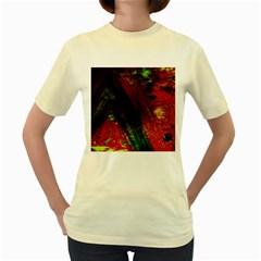 Secret Sign Of Masons 6 Women s Yellow T Shirt
