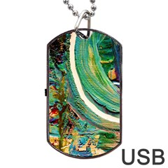 Matters Most 3 Dog Tag Usb Flash (one Side)