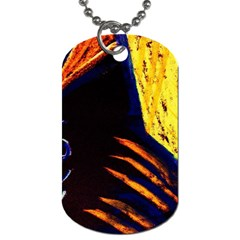 Cryptography Of The Planet 2 Dog Tag (one Side)