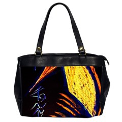 Cryptography Of The Planet 2 Office Handbags (2 Sides)