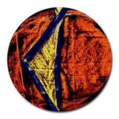 Cryptography Of The Planet 9 Round Mousepads by bestdesignintheworld