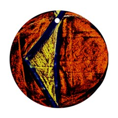 Cryptography Of The Planet 9 Ornament (round)