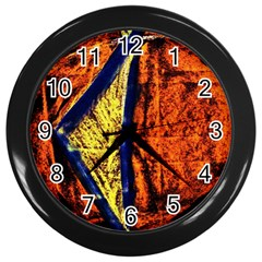 Cryptography Of The Planet 9 Wall Clocks (black)