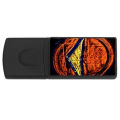 Cryptography Of The Planet 9 Rectangular Usb Flash Drive