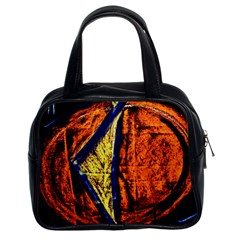 Cryptography Of The Planet 9 Classic Handbags (2 Sides)