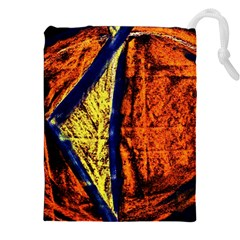 Cryptography Of The Planet 9 Drawstring Pouches (xxl)