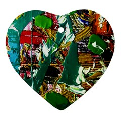 Oasis Heart Ornament (two Sides)