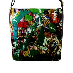 Oasis Flap Messenger Bag (l)