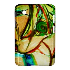 Girl In A Blue Tank Top Samsung Galaxy Tab 2 (7 ) P3100 Hardshell Case