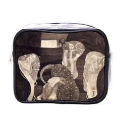 Jurisprudence   Gustav Klimt Mini Toiletries Bags