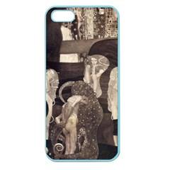 Jurisprudence   Gustav Klimt Apple Seamless Iphone 5 Case (color)