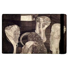 Jurisprudence   Gustav Klimt Apple Ipad 3/4 Flip Case by Valentinaart