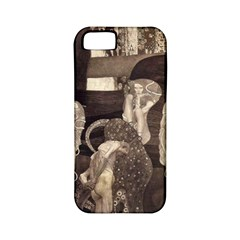 Jurisprudence   Gustav Klimt Apple Iphone 5 Classic Hardshell Case (pc+silicone)