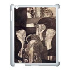 Jurisprudence   Gustav Klimt Apple Ipad 3/4 Case (white) by Valentinaart