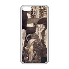Jurisprudence   Gustav Klimt Apple Iphone 5c Seamless Case (white)