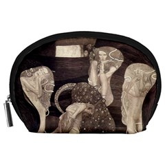 Jurisprudence   Gustav Klimt Accessory Pouches (large)