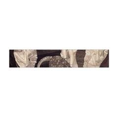 Jurisprudence   Gustav Klimt Flano Scarf (mini) by Valentinaart