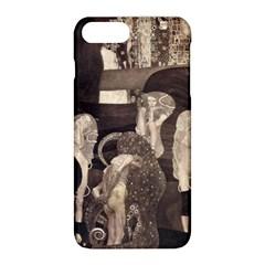 Jurisprudence   Gustav Klimt Apple Iphone 8 Plus Hardshell Case by Valentinaart