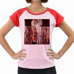 The Three Ages Of Woman  Gustav Klimt Women s Cap Sleeve T Shirt