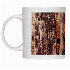 The Three Ages Of Woman  Gustav Klimt White Mugs by Valentinaart