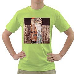 The Three Ages Of Woman  Gustav Klimt Green T Shirt