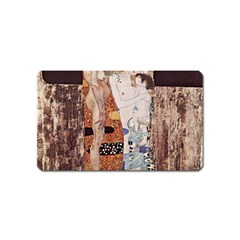 The Three Ages Of Woman  Gustav Klimt Magnet (name Card)