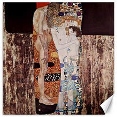 The Three Ages Of Woman  Gustav Klimt Canvas 20  X 20   by Valentinaart