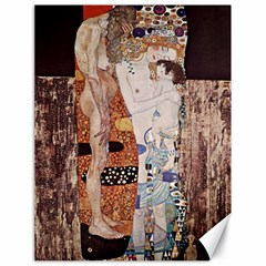 The Three Ages Of Woman  Gustav Klimt Canvas 18  X 24   by Valentinaart