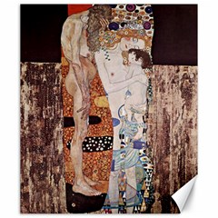 The Three Ages Of Woman  Gustav Klimt Canvas 20  X 24   by Valentinaart
