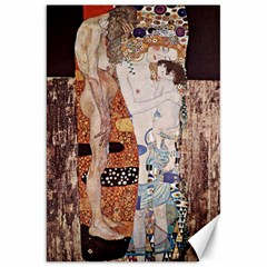 The Three Ages Of Woman  Gustav Klimt Canvas 20  X 30   by Valentinaart