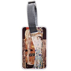 The Three Ages Of Woman  Gustav Klimt Luggage Tags (one Side)