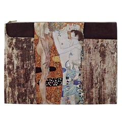 The Three Ages Of Woman  Gustav Klimt Cosmetic Bag (xxl)