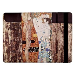 The Three Ages Of Woman  Gustav Klimt Samsung Galaxy Tab Pro 12 2  Flip Case