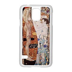 The Three Ages Of Woman  Gustav Klimt Samsung Galaxy S5 Case (white)