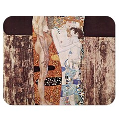 The Three Ages Of Woman  Gustav Klimt Double Sided Flano Blanket (medium)