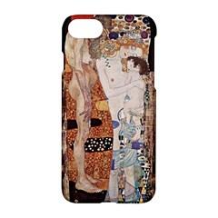The Three Ages Of Woman  Gustav Klimt Apple Iphone 8 Hardshell Case by Valentinaart
