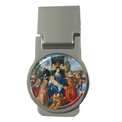 Feast Of The Rosary   Albrecht D¨1rer Money Clips (round)