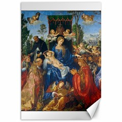 Feast Of The Rosary   Albrecht D¨1rer Canvas 12  X 18